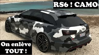 download video audi rs4 total covering camouflage militaire r alis par solar concept. Black Bedroom Furniture Sets. Home Design Ideas