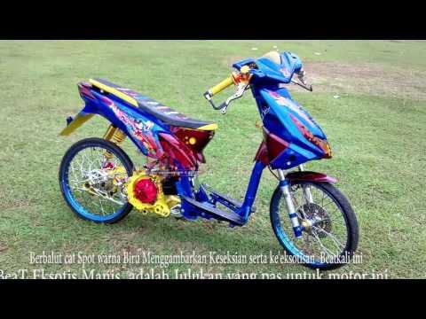 Video Modifikasi Honda Beat Keren, Manis Eksotis