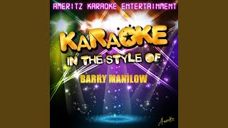Are You Lonesome Tonight? (In the Style of Barry Manilow) (Karaoke Version)