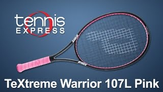 Ρακέτα τέννις Prince Textreme Warrior 107L video