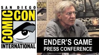 Ender's Game Comic Con 2013 Interview : Harrison Ford - Beyond The Trailer