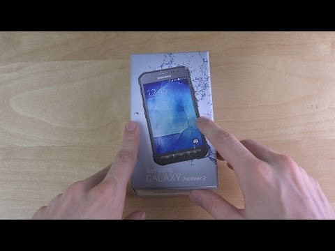 Samsung Galaxy Xcover 3 - Unboxing!