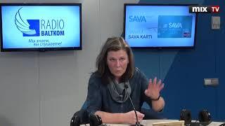 """Руководитель проекта """"Большая Толока"""" Вита Яунземе в программе """"Разворот""""  #MIXTV"""