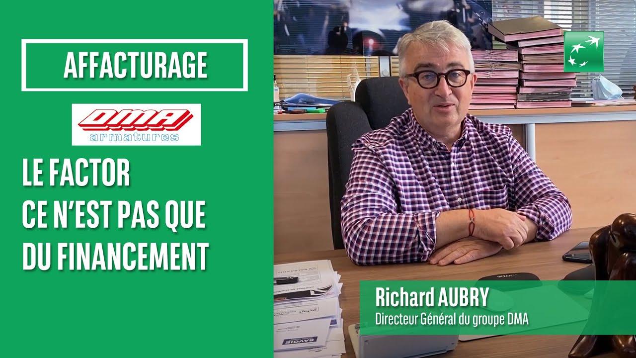 Retrouvez Richard Aubry, dirigeant de DMA Armatures qui nous explique pourquoi il utilise l'affacturage depuis plus de 15 ans.