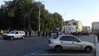 Парад вышиванок в Харькове. Новости 23.08.2017
