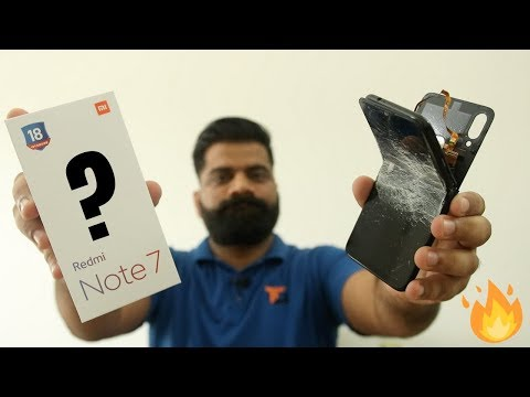 "Redmi Note 7 Unboxing & First Look - ""POWERFUL"" Performance, ""WEAK"" Design 🔥🔥🔥"