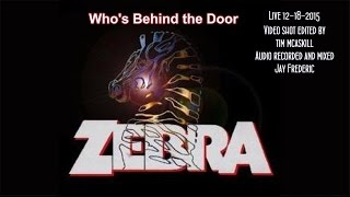 Zebra Who's Behind The Door