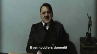 Hitler Finds Out Rue McClanahan Died (And Chokes Up!!)!