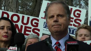 Alabama Democrat Doug Jones Votes in Senate Race