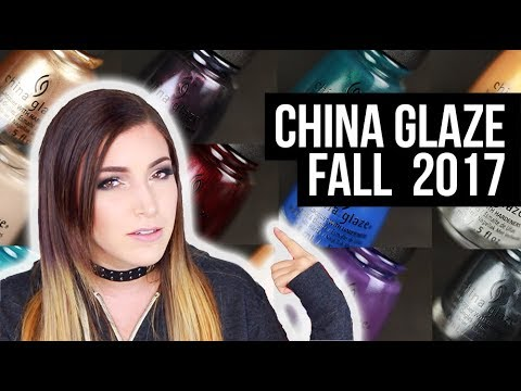 China Glaze Fall 2017 Nail Polish Collection Swatch and Review (Street Regal) || KELLI MARISSA
