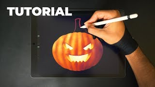How to Draw a Pumpkin for Halloween 🎃