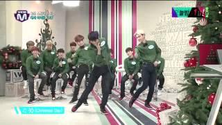 EXO Mnet Wide Open Studio Christmas Day Dance 131219
