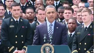 Barack Obama cantando Shake It Off de Taylor Swift