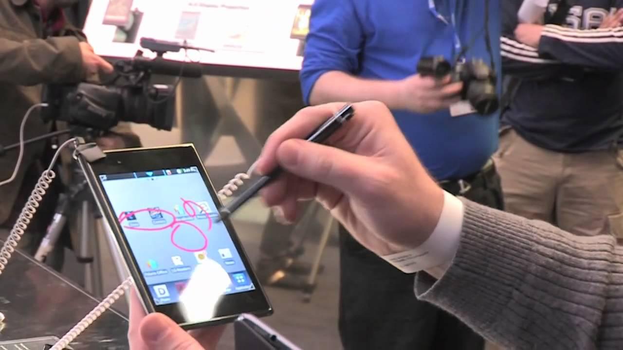 LG Optimus Vu hands-on video thumbnail