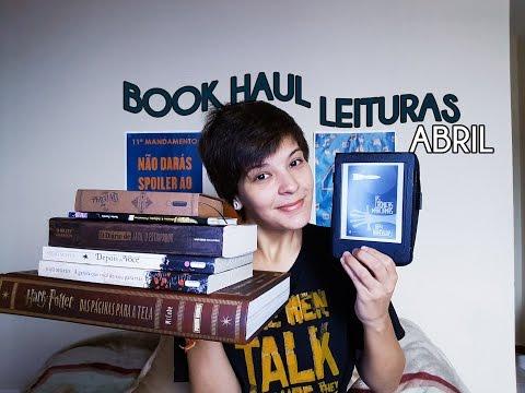 Book Haul + Leituras de Abril | Quatro Sentidos