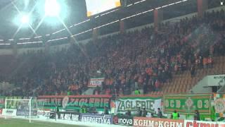 preview picture of video 'Zagłębie Lubin - Pogoń Szczecin 22.02.2013 -  doping pierwsza połowa'