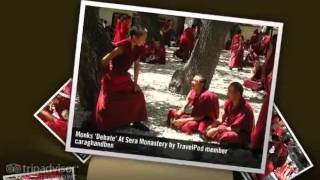 preview picture of video 'Sera Monastery - Lhasa, Tibet, China'