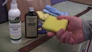 Leather Belt Restoration