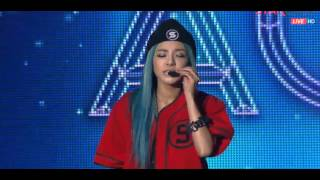 140227 2NE1 AON Open Rehearsal - Missing You (Soundcheck)