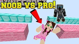 Minecraft: NOOB VS PRO!!! KAWAII RUN! - Custom Map