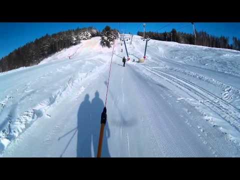 Видео: Видео горнолыжного курорта Хвалынский в Саратовская область