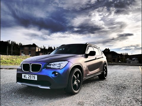 How to custom a car with some awesome paint job bmw x1 matte paint