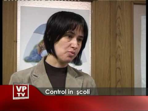 Control în şcoli