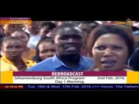 Apostle Johnson Suleman #South Africa Invasion 2016 Day 1
