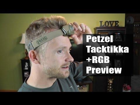 Headlamp - Petzl Tactikka RGB