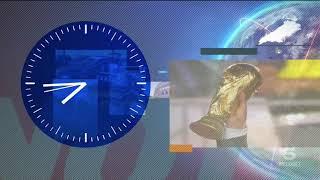 Canale 5 - Ora Esatta E Sigla TG5 Prima Pagina Con Modifiche (2018)