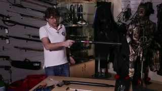 Ружье пневматическое OMER Air XII 50 см от компании МагазинCalipso dive shop - видео
