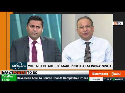 Mr Praveer Sinha, CEO & MD, Tata Power interviewed by Bloomberg Quint News