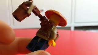 Обзор небольшой коллекции (Lego Ninjago movie )