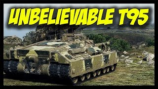 ► Unbelievable T95 - What a Battle... - World of Tanks T95 Gameplay