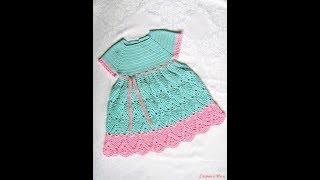 Crochet Patterns| For Free |crochet Baby Dress| 2526