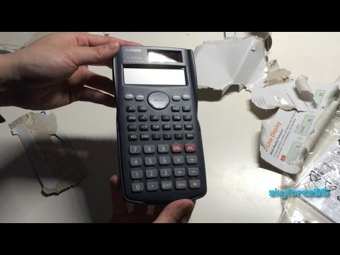 Casio Fx 300ms Scientific Calculator Unboxing and Review