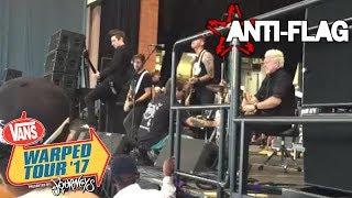 Power to the Peaceful - Anti Flag - Hartford, CT - Warped Tour 2017
