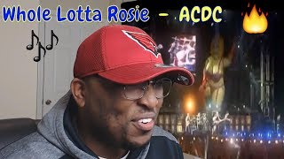 ACDC - Whole Lotta Rosie Reaction
