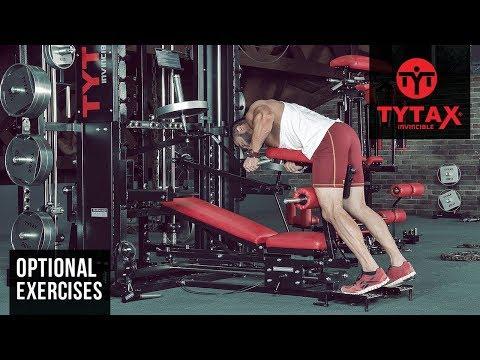 TYTAX® T1-X (Opt. JA) | Lever Bent-Over One Arm Hammer Row