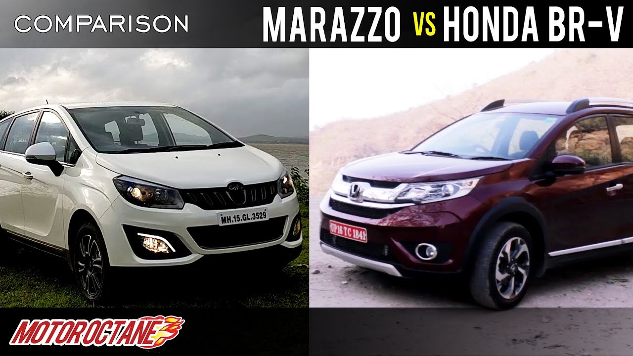 Motoroctane Youtube Video - Mahindra Marazzo vs Honda BRV 2018 Comparison | Hindi | MotorOctane