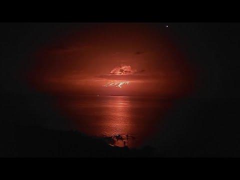 Έκρηξη ηφαιστείου στα νησιά Γκαλαπάγκος