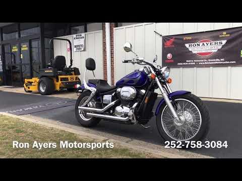 2005 Honda Shadow Aero® 750 in Greenville, North Carolina - Video 1