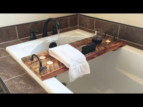 MAKING A BATHTUB TRAY
