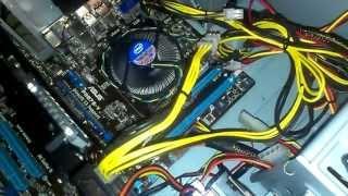 Установка видеокарты GTX 650 Ti 1 Gb
