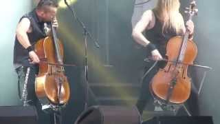 Apocalyptica  - Creeping Death - LIVE 2015