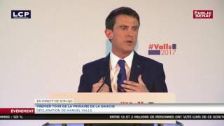 REPLAY. Manuel Valls : « Pour le deuxième tour, rien n'est écrit »
