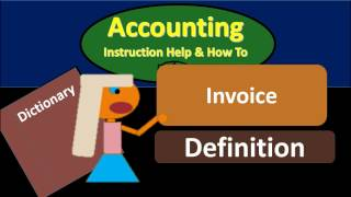 Invoice Definition - What is Invoice?
