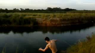 preview picture of video 'Que Buena Caída Hdp, En La Tosquera (Pontevedra)'