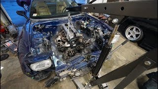 FORCING A 1JZ IN AN RX7 FD!