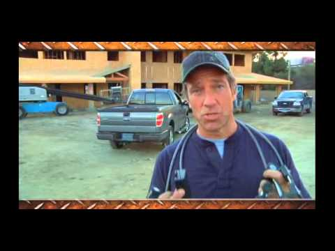 Screen capture of Mike Rowe Work Truck Security